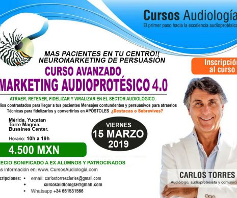 MARKETING AUDIOPROTÉSICO AVANZADO 4.0