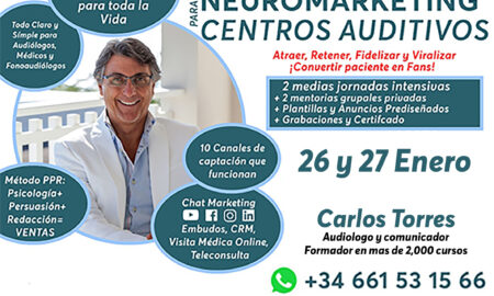 CURSO MÁSTER NEUROMARKETING PARA CENTROS AUDITIVOS 2021