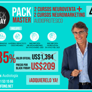 PACK MASTER                              (2 NEUROVENTA + 2 NEUROMARKETING)