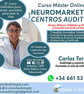 MÁSTER EN NEUROMARKETING PARA CENTROS AUDITIVOS